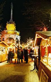 Marché de Noël à Liège
